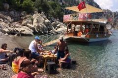 Adrasan Tekne Turları - Molamız