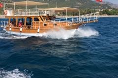 Adrasan Tekne Turları -Rotamızda ilerliyoruz