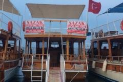 Adrasan Tekne Turları -Sazak Teknesi Dış Görünüş