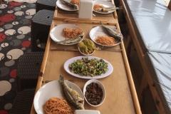 Adrasan Tekne Turları - Yemek Menüsü