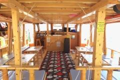 Adrasan Tekne Turları -Sazak Teknesi İç Görünüş